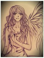 Fallen Angel series preview by Vallia
