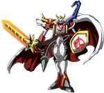 Shoutmon X4K by Hanshumon