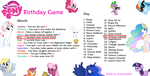 MLP Birthday game by Moonwing5220