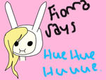 Fionna Says (Adventure Time) # 3 by Slendykitten