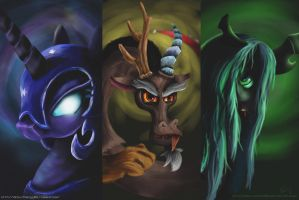 mlp villains (Request) by Reillyington86
