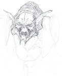 Hordak Rough by T-RexJones