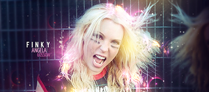 Angela Gossow - Finky by Kinetic9074