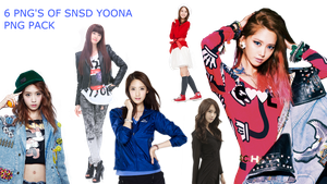 SNSD YOONA PNG PACK by Acoojoy13