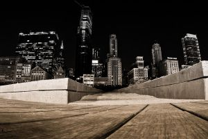 Night in the city by firesign24-7