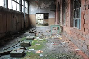 Old factory Stock 024 by Malleni-Stock