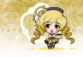Chibi Mami Tomoe by Paprika-Studios