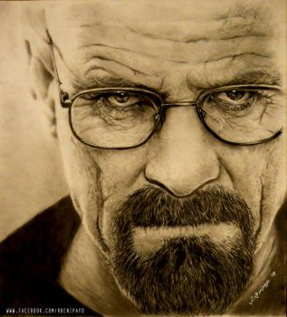 Walter White by r0LaNdB2001