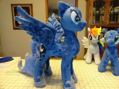 Luna S2 progress in the works by WhiteDove-Creations