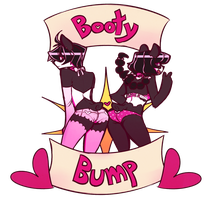 Booty Bump by Coffee-and-Paperbags