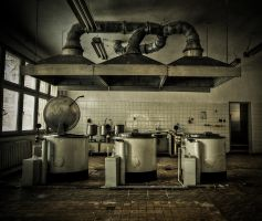 Kitchen Black Magic by AbandonedZone