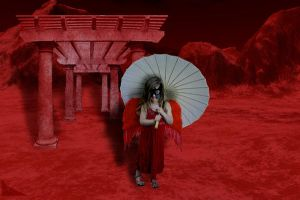 Little Red Moon Goddess by HiddenRelevance