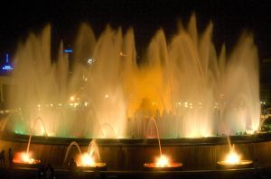 Barcelona Fountains: Grand Finale by Vampire-Fish