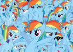 Rainbow Dash! by PegasisterInAction
