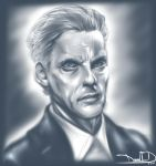 Peter Capaldi (Painted) 9-6-15 by DamnEvilDog