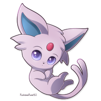 Chibi Espeon by RainbowRose912