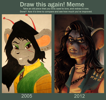 Draw This Again by XtreamCrazy