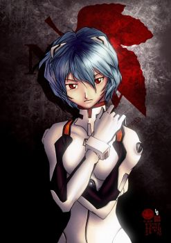 rei ayanami NERV project by limandao