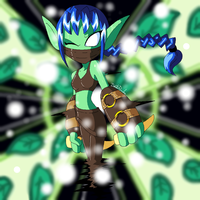 Skylanders - Stealth Elf by Chibi-Warmonger