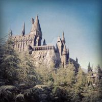 Hogwarts by cloudydayapples