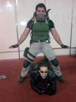 Oppa Wesker and/or Chris Style by IKevinXSer