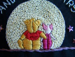 Pooh and Piglet Purse by WhiteAntCrawls