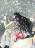 SW09: Snow Queen by lauraneato