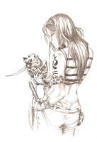 Luis Royo by Sybell
