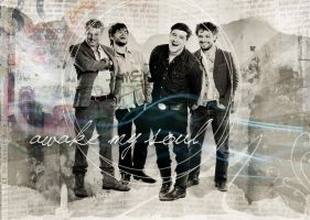 Mumford and Sons Wallpaper by MaggieZine