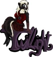 New clean Badge TWILLIGHT by StarlightsMarti by ASKABANIUM