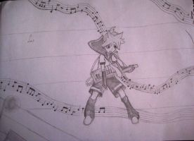 Kagamine Len - Lets rock by colorfulldrawer