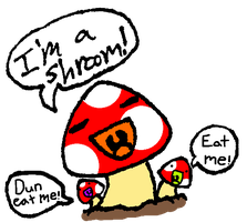 Shroomie the Shroom by CNena