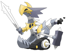 #??? Paladrake by Smiley-Fakemon