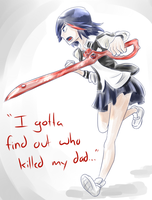 Ryuuko is motivated by Kirbeee