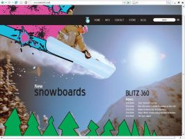 Blitz 360 Home Page by davilesdesigns