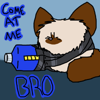 Come at me bro by catlover1672