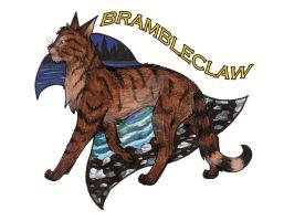5. Brambleclaw by CaptainMorwen