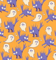 SPOOKY pattern by Andcetera