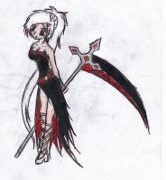 OC Idea - Reaper Girl by BrokenHearted-Dreamz