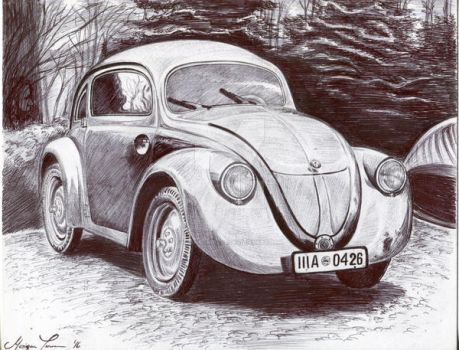 1937 VW Beetle by kashmere1646