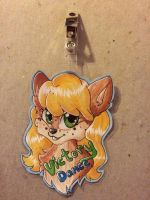 Chipmunk Badge- Commissions OPEN by TayyKitsune
