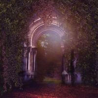 Mystical gate Premade 3 by CindysArt-Stock