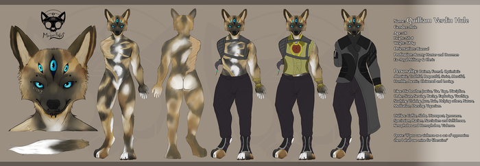 Quill V Hule -  Reference Sheet by MajorFelis
