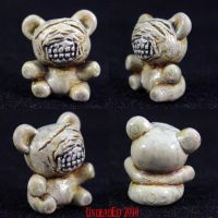 Silent Hill Bear Charm by Undead-Art