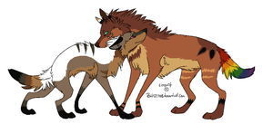 Breeding Couple 9 - CLOSED by LizzysAdopts