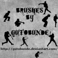 '+' BaseBall Brushes by GutoBunde