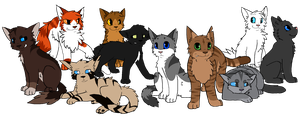 Favorite Warrior Cats by Etched-Heart
