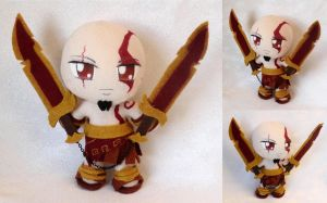 Chibi God of War Plushie by ThePlushieLady