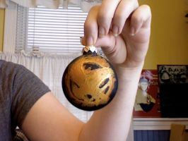 Hunger games ornament by maximumride1995
