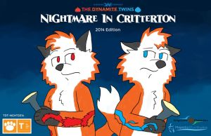 Nightmare in Critterton 2014 cover by JWthaMajestic